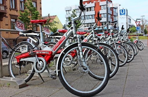 Räder und Pedelecs soll es bald in ganz Stuttgart  geben