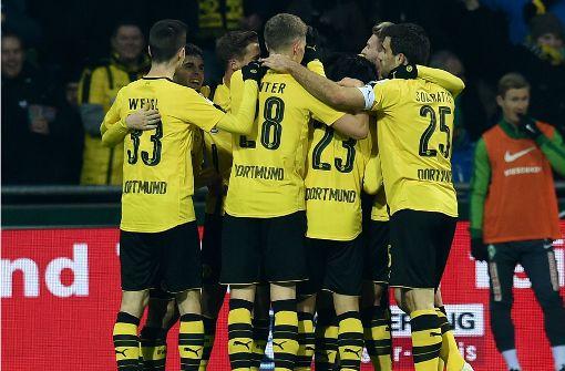 Borussia Dortmund und 1899 Hoffenheim holen wichtige Siege