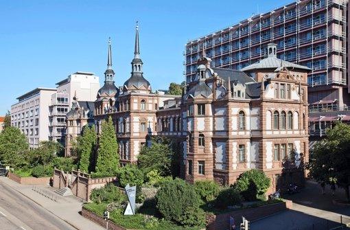 Das Marienhospital mit dem Neubau heute. Foto: Lichtgut/Zweygarth