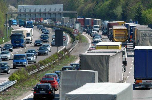 Autobahn 6 wird wegen Brückenarbeiten voll gesperrt