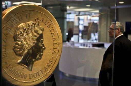 Königstraße Größte Goldmünze Der Welt In Stuttgart Stuttgart