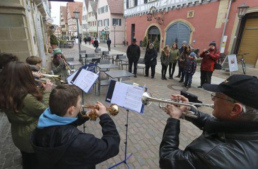 Vereine und Musiker bringen die Altstadt zum Klingen. Foto: factum/Granville