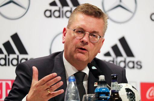 DFB-Präsident gesteht Fehler ein