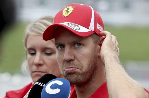 Vettel hilft nur noch Hexerei