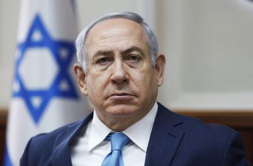 Israels Ministerpräsident Benjamin Netanjahu. Foto: