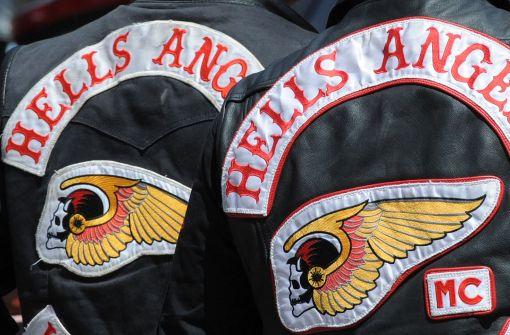Großeinsatz der Polizei bei den Hells Angels