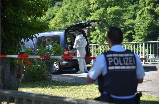 Auf einem Campingplatz in Heidelberg hat ein Mann zuerst seinen Begeleiter erschossen und dann sich selbst. Foto: Pr-Video