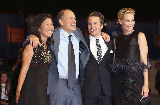 Woody Harrelson und Kirsten Dunst feiern ihre Filme