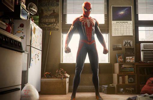 Spider-Man und sein Alter Ego Peter Parker ist auch in der Neuauflage des Videospiels der nette Superheld von nebenan,... Foto: Marvel