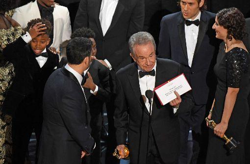 Große Verwirrung bei den Oscars