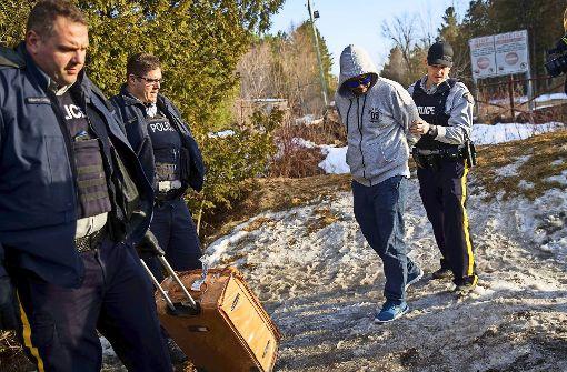 Lebensgefährliche Flucht nach Kanada