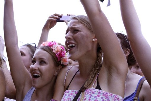 Southside: Mädchen schwärmen für Bastille