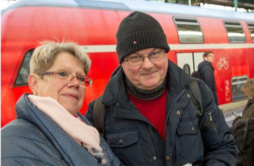 Bahnmitarbeiter: Alles im grünen Bereich