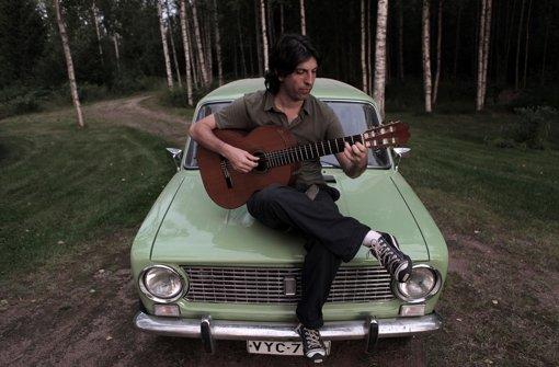 Der Argentinier Dipi auf Forschungsreise in Finnland. Foto: Neue Visionen