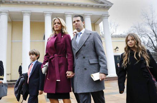 Trump Junior lässt sich scheiden