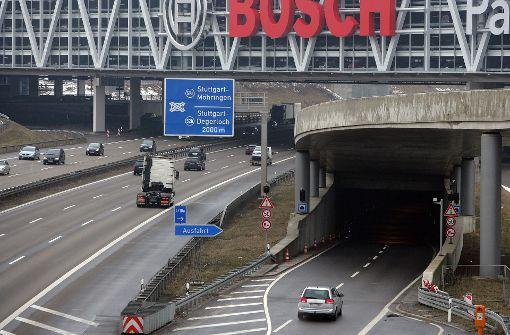 Messetunnel wird gesperrt