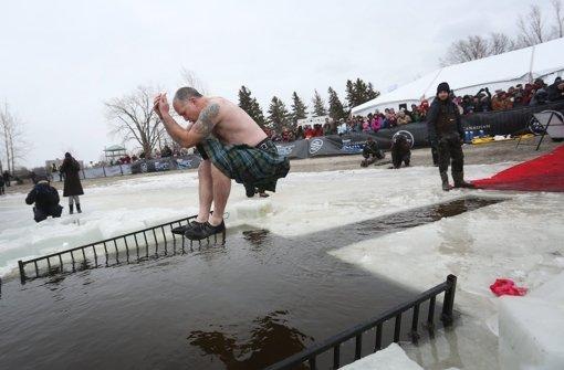 Eiskaltes Spektakel in Ottawa
