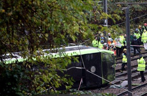 Sieben Tote und 50 Verletzte bei Straßenbahn-Unfall