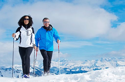 Unendlich weite Winterwanderwege  Foto: Oberstaufen Tourismus