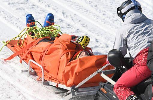 Heftige Stürze überschatten Skicross-Wettbewerb