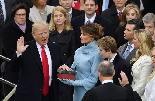 Das sind die Titelseiten zum neuen US-Präsidenten
