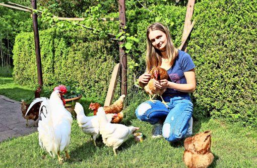 16-jährige Stuttgarterin rettet gequälte Hühner