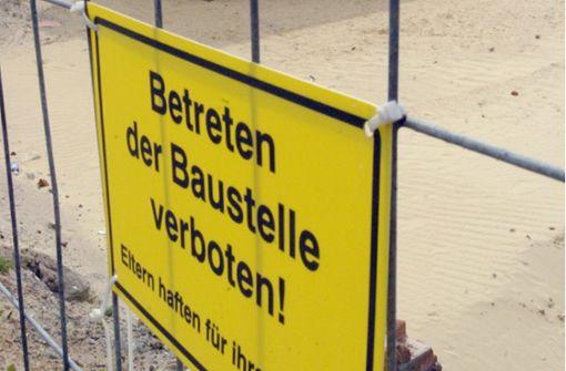 Aus einem Container auf einer Baustelle in Stuttgart-Feuerbach wurden Werkzeuge und Maschinen gestohlen. (Symbolfoto) Foto: dpa