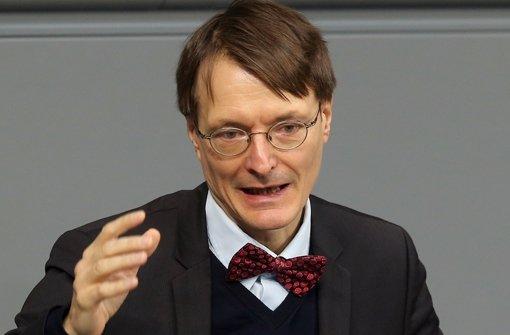 Greift die Krebsindustrie an: SPD-Gesundheitsexperte Karl Lauterbach Foto: dpa