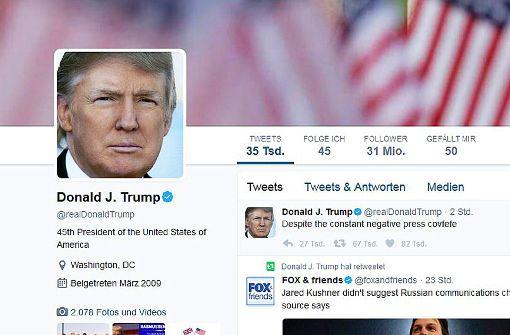 Kommt wegen Trump jetzt neues Gesetz für Twitter?