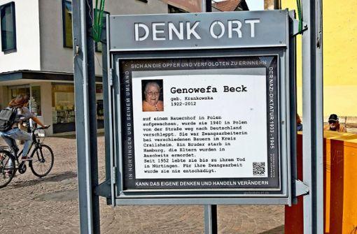 Das leidvolle Leben der Genowefa Beck