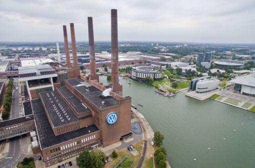 Das VW-Werk in Wolfsburg. Foto: dpa