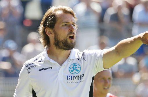 1:1 im Spiel Kickers gegen TuS Koblenz