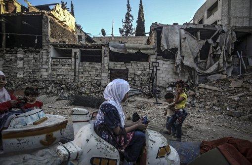 UN-Hilfskonvois warten auf Erlaubnis vom Regime