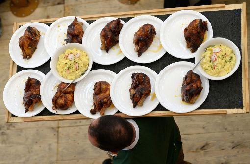 Verdacht auf Lebensmittelvergiftung auf dem Oktoberfest