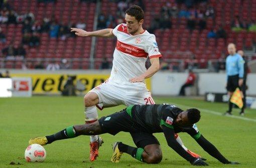 Christian Gentner ist sich sicher, dass die VfB-Neulinge... Foto: dpa
