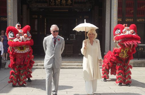 Prinz Charles ist mit Camilla in Malaysia. Foto: Getty Images AsiaPac