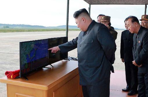"""Zusammen mit China """"größtmöglichen Druck"""" ausüben"""