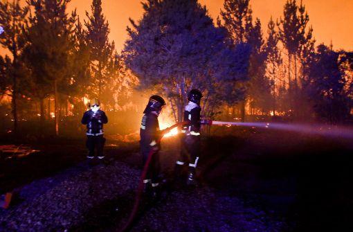 Verheerendes Feuer zerstört 40 Häuser