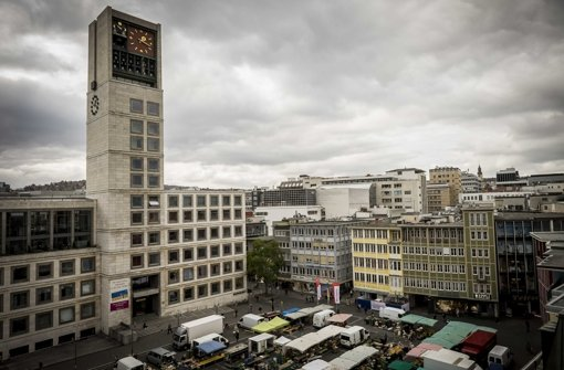 Der Stuttgarter Marktplatz Muss Saniert Werden Foto Lichtgut Max Kovalenko