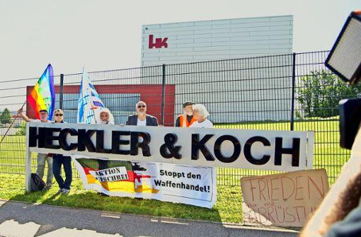 Heckler & Koch beschäftigt erneut die Politik