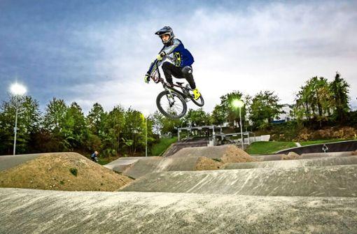BMX-Strecke offen für den Nachwuchs