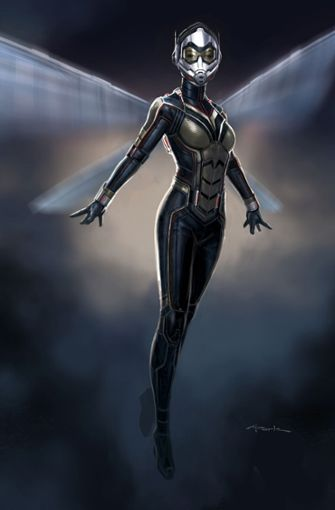 Es ist nicht schwer zu erraten, warum sich diese Heldin (Evangeline Lilly) The Wasp, die Wespe also, nennt.  Foto: Walt Disney