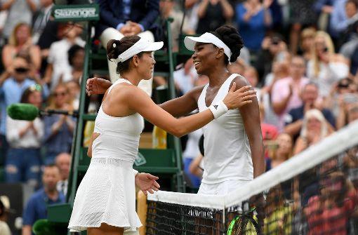 Garbiñe Muguruza gewinnt zum ersten Mal in Wimbledon
