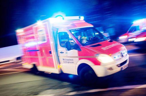 Bewohner bei Brand schwer verletzt