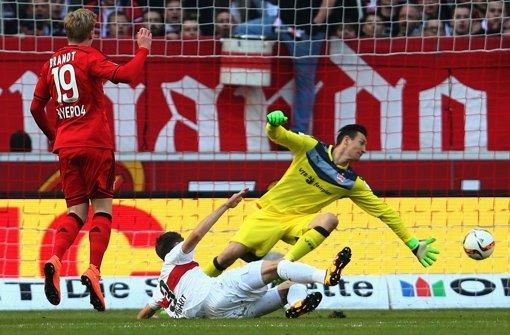 Przemyslaw Tyton: Bei beiden Treffern in der Position des interessierten Beobachters: Chancenlos. Ansonsten tadellos. Note: 2,5  Foto: Getty