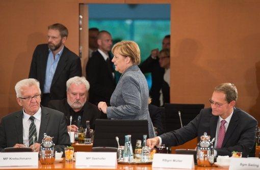 Merkel verspricht 40.000 Plätze