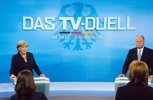 Kanzlerduell beflügelt die hiesige Partei-Basis