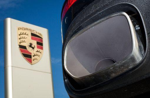 Kratzer im feinen Porsche-Lack