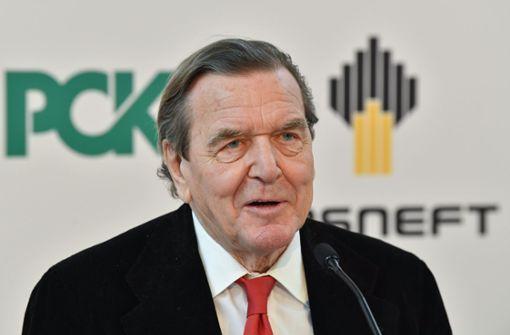 Die Kanzlerin sagt Njet zu Sanktionen gegen Schröder