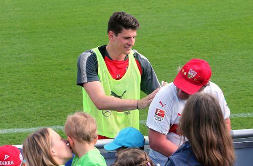 Flaute bei Mario Gomez stört Trainer Korkut nicht